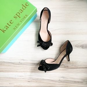 Kate Spade New York Sidney Heels Black